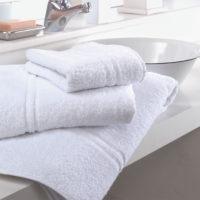 Asciugamani spugna amburgo cotone bianco 2 eurotex prodotto