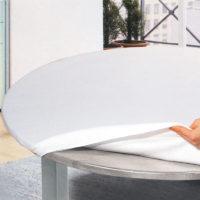 Mollettone tavola bianco cotone eurotex prodotto
