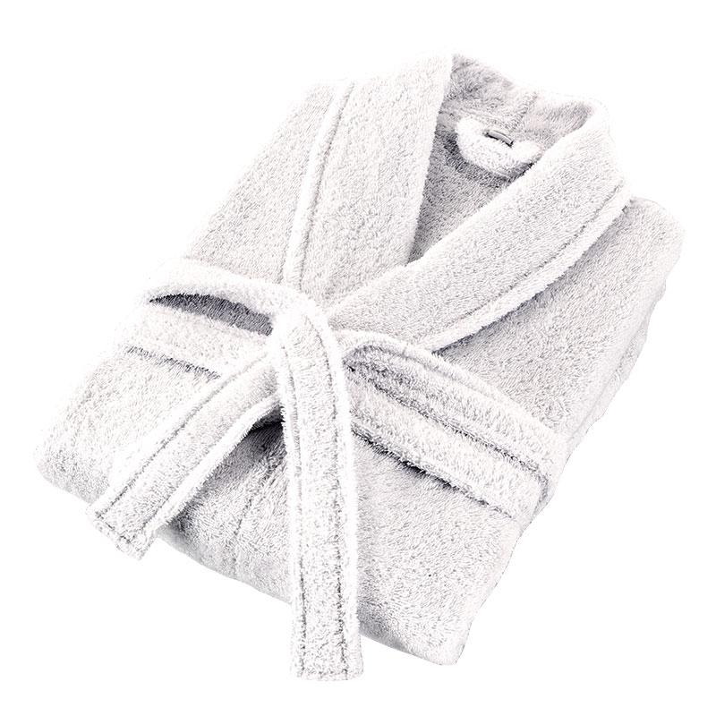 Accappatoio oslo scialle cotone bianco eurotex prodotto