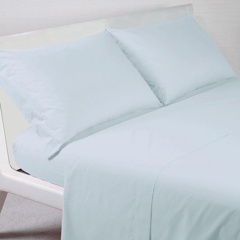 Lenzuolo sotto con Angoli Matrimoniale, Disegno 3 Azzurro- Bianco Coppie Federe Diversi Modelli e Colori KUTEX Set Lenzuolo MATRIMONIALI 100/% Cotone Made in Italy: Lenzuolo sopra