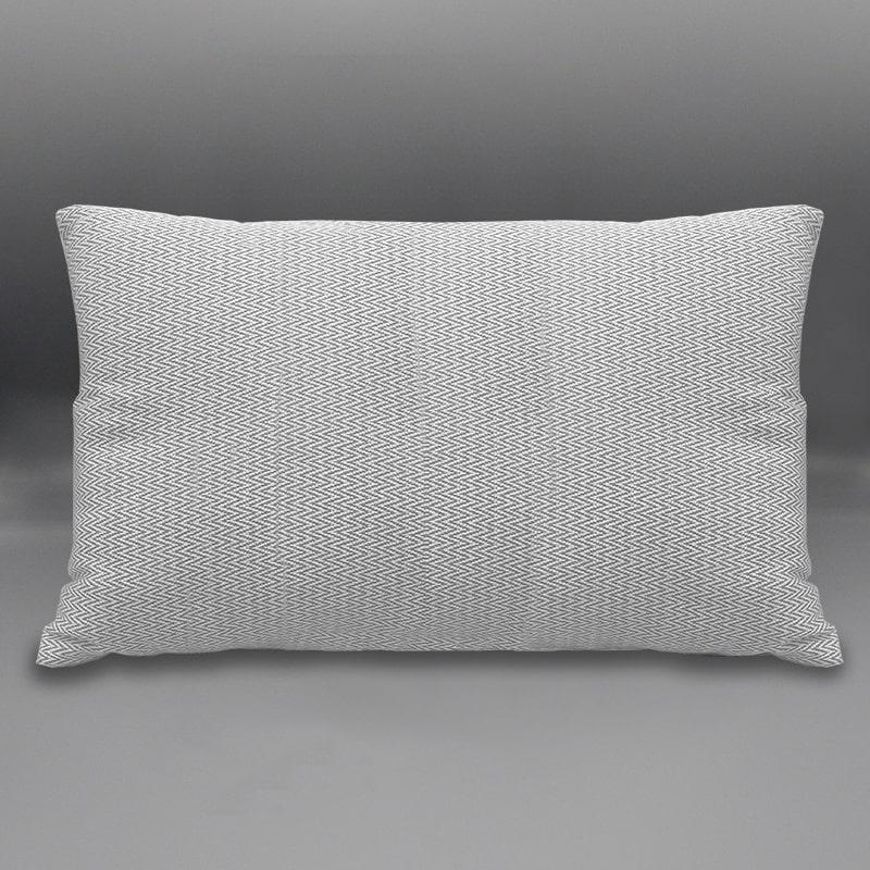 cuscino arredo rettangolo lisca semplice grigio eurotex prodotto