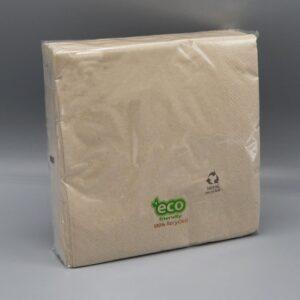 Tovagliolo eco-friendly in ovatta riciclata al 100%. Inizia a salvaguardare l'ambiente con i tovaglioli Eurotex Hotellerie!