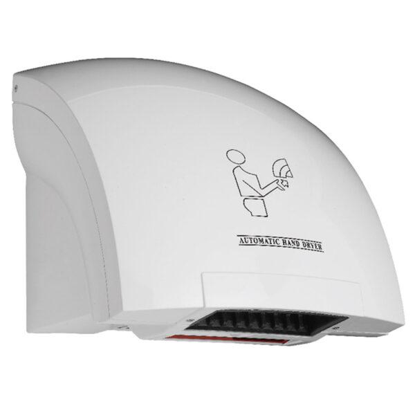 Asciugamani elettrico per asciugare rapidamente le mani e limitare l'uso della carta. Affidati a Eurotex: specialisti nelle forniture per B&B
